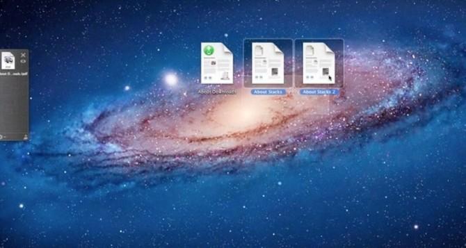 Smart drag-och-släpp program för OS X